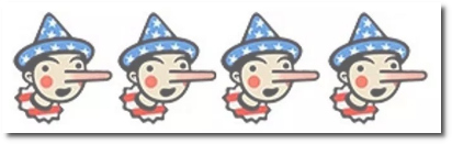 Four Pinocchios from FactCheck.org for DHS sec Kirstjen Nielsen's characterization regarding her administration's policy of separating migrant children from their parents.