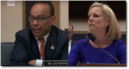 Rep. Luis Gutierrez (D-IL) confronts DHS secretary Kirstjen Nielsen over border separations (20 Dec 2018)
