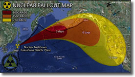 Nuclear Fallout from Fukushima reaches Wes Coast California