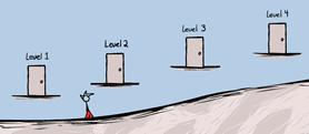 Game levels in Fancy Pants 2