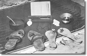 Gandhi's possessions at his death in 1948