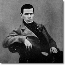 Tolstoy at age 20 in 1848