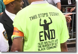 This Stops Today | August 23 Protest March for Eric Garner