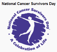 National Cancer Survivors Day is Sunday, June 7