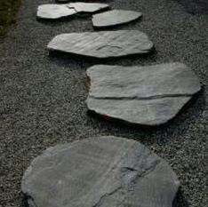 Five Zen stones forward on the path ahead