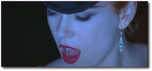 Nicole Kidman sings as Satine in Moulin Rouge!