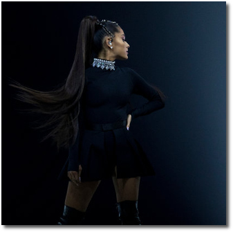 Ariana at Madison Square Garden