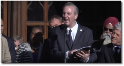 The poet Tony Walsh reads his poem 'This is the Place' about Manchester May 23, 2017
