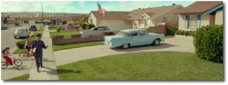 Idyllic 1950's from Suburbicon