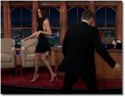 Meghan Markle looking thin 2013 with Craig Ferguson