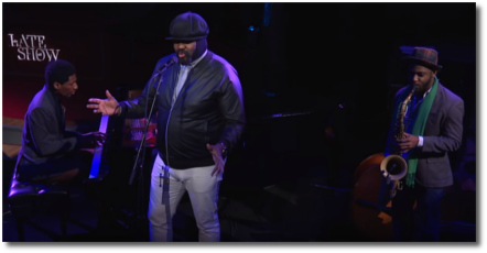 Gregory Porter singing Nature Boy with Jon Batiste on piano