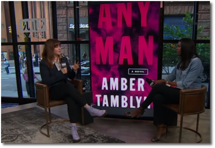 Amber Tamblyn Build interview for Any Man (26 June 2018)