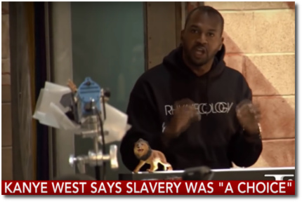 Van at TMZ is not happy with what Kanye said about slavery