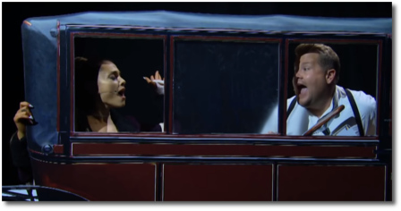 Ariana and James sing Ride Wit Me in Titanic (13 Aug 2018)