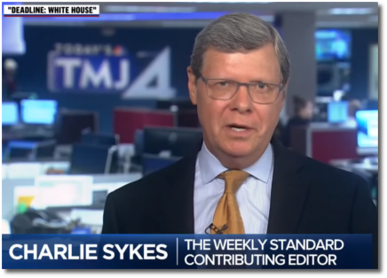 Charlie Sykes says this current era will be remembered as 'the age of corruption and cruelty